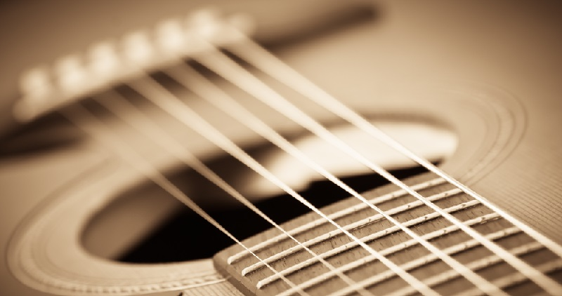 Guitar with Strings